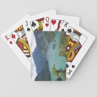 Le nord cascade la photo de lac diablo jeu de cartes