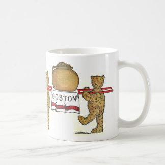 Le nounours et le pot de Boston ont fait des Mug