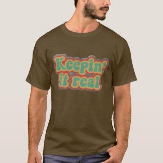 Le nounours le gardent vrai T-shirt