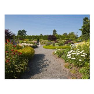 Le Nouveau Brunswick, Canada. Jardin de Kingsbrae Carte Postale