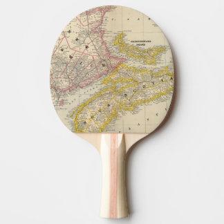 Le Nouveau Brunswick, la Nouvelle-Écosse Raquette De Ping Pong