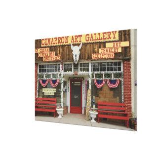 Le Nouveau Mexique, Cimarron. Galerie d'art de Toiles