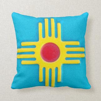 Le Nouveau Mexique Zia Sun Oreiller