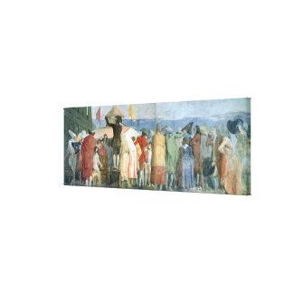 Le nouveau monde, 1791-97 (huile sur la toile) (vo toiles