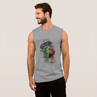 Le nouveau produit jamaïcain a appelé BogWyah T-shirt Sans Manches