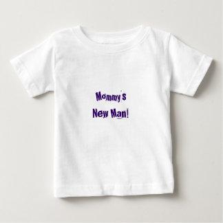 Le nouvel homme de bébé de chemise de la maman t-shirt pour bébé