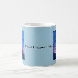 Le nuage Huggers unissent l'arrêt GEO de ~ Mug Blanc