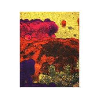 Le nuage pelucheux sale forme l'art abstrait toiles
