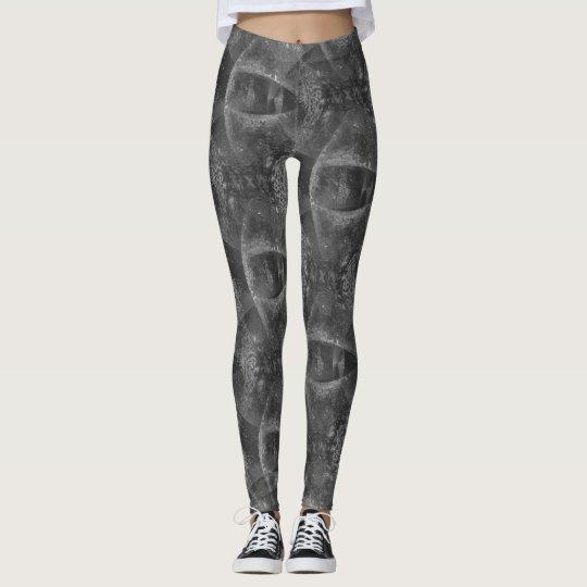 """Le """"oeil gris vous voient"""" modeler leggings"""