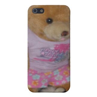 """Le """"ours d'été dans le tigre chausse"""" CricketDiane iPhone 5 Case"""
