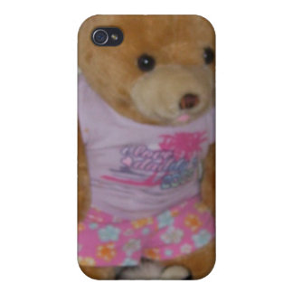 """Le """"ours d'été dans le tigre chausse"""" CricketDiane Coque iPhone 4/4S"""