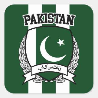 Le Pakistan Sticker Carré