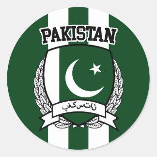 Le Pakistan Sticker Rond