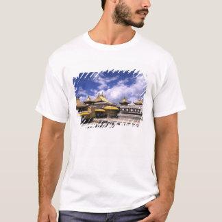 Le Palais du Potala à l'intérieur avec des T-shirt