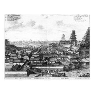 Le palais impérial dans Ido, Japon Cartes Postales
