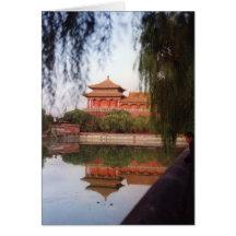 Le palais impérial, Pékin Cartes De Vœux