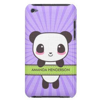 Le panda mignon de Kawaii a personnalisé la caisse