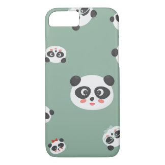 Le panda mignon fait face à la couverture d'iPhone Coque iPhone 7