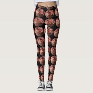 Le pantalon de yoga arrose des guêtres de beignet leggings