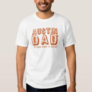 Le PAPA d'AUSTIN le gardent de présent étrange du T-shirt