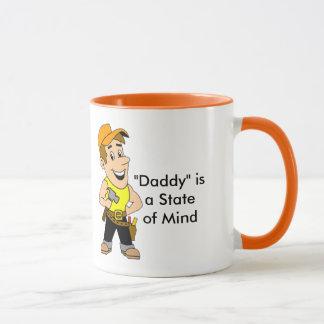 """Le """"papa"""" est un support de tasse d'esprit"""