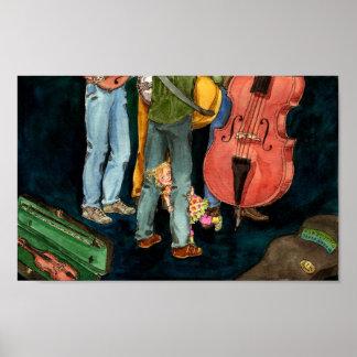 le papa joue l affiche de bluegrass