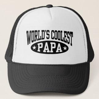 Le papa le plus frais du monde casquette