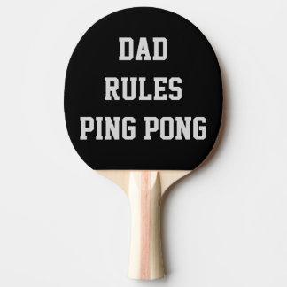 Le papa ordonne le double personnalisé par raquette tennis de table