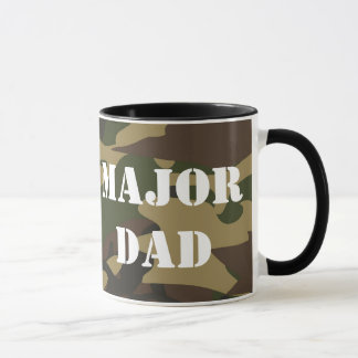 Le papa principal, militaires de Camo engendrent Mug