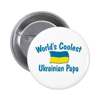 Le papa ukrainien le plus frais badge avec épingle