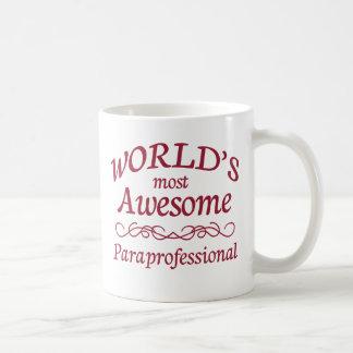 Le paraprofessionnel le plus impressionnant du mug