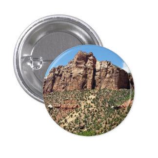 Le parc national de Zion de temple est en Utah Pin's