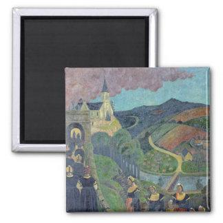 Le pardon de Notre-Dame-DES-Portes à Magnet Carré