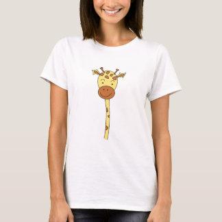 Le parement de girafe expédie. Bande dessinée T-shirt