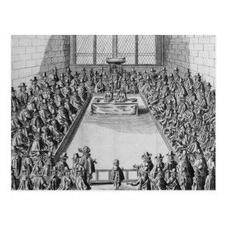 Le Parlement pendant le Commonwealth, 1650 Carte Postale