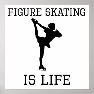 Le patinage artistique est la vie poster