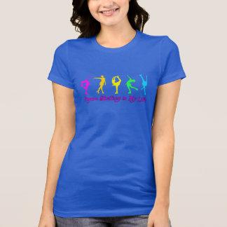 Le patinage artistique est ma vie - patineurs t-shirt