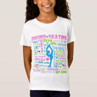Le patineur artistique en pastel exprime la T-Shirt