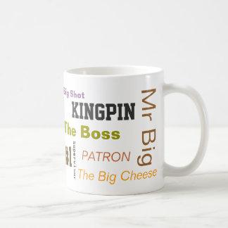 """Le """"patron """" mug"""
