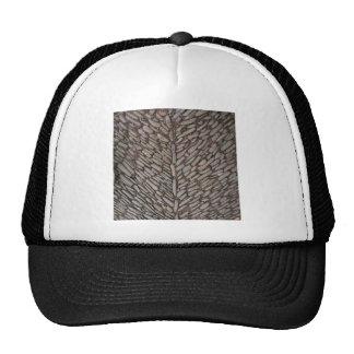 Le pavé lapide des chapeaux casquette