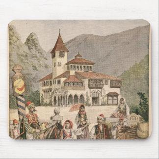 Le pavillon bosnien à l'exposition universelle tapis de souris