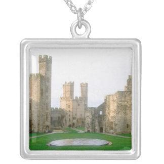 Le Pays de Galles, château de Caernarfon, un Pendentif Carré