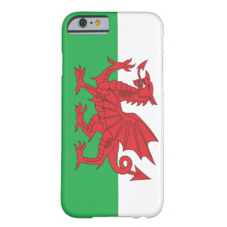 Le Pays de Galles/le cas de l'iPhone 6 dragon de G Coque Barely There iPhone 6
