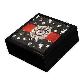 Le pays des merveilles 1 grande boîte à bijoux carrée