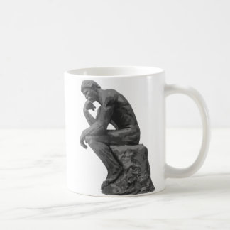 Le penseur de Rodin Mug