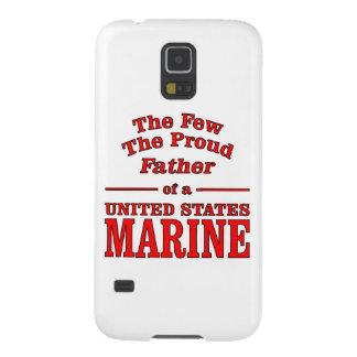 Le père fier d'une marine des Etats-Unis Protections Galaxy S5