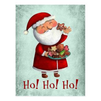 cartes de voeux avec père Noël