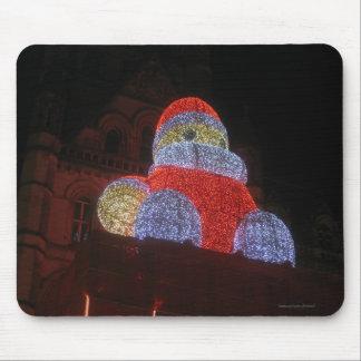 Le père noël géant, marché de Noël, Manchester Tapis De Souris