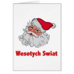Le père noël polonais #2 cartes de vœux