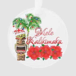 Le père noël Tiki Mele Kalikimaka